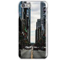 Yonge Street Toronto iPhone Case/Skin