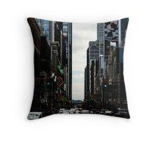 Yonge Street Toronto Throw Pillow