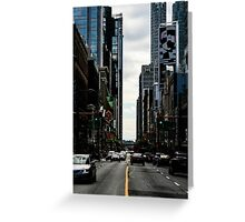 Yonge Street Toronto Greeting Card