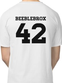 Beeblebrox Sports Jersey Classic T-Shirt
