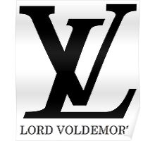 LV - Lord Voldemort Poster