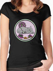 Kitten Smash! Women's Fitted Scoop T-Shirt