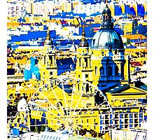 Budapest: Basilica and the Eye - in colour  Photographic Print