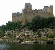 Almourol Castle, Tancos, Portugal by Erika Ribeiro