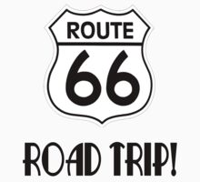 Road Trip on Route 66 Kids Tee