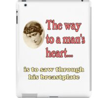 The Way to a Man's Heart iPad Case/Skin