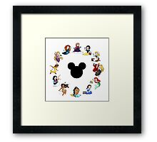 Time to Be A Princess (Anna) Framed Print