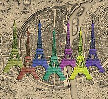 An Eye-full of Eiffel by Chunga