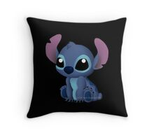 Chibi Stitch  Throw Pillow