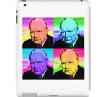 Winston Churchill - Pop Art iPad Case/Skin