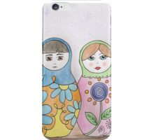 Babushka Family iPhone Case/Skin