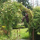 Evergreen Arboretum Iron Gate by Edith Farrell