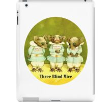 Three Blind Mice iPad Case/Skin