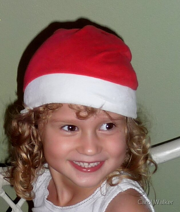 Waiting for Santa by Carol Walker