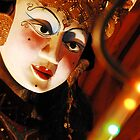 Indonesia Bali Wooden Mask  by noelmiller