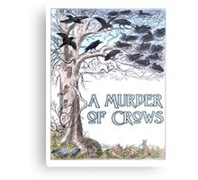 A Murder of Crows Metal Print