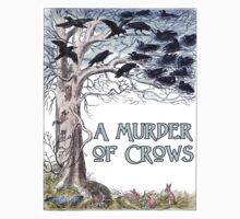 A Murder of Crows Kids Clothes