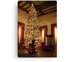 Christmas at the Paine Canvas Print