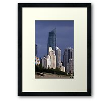 Highrise Light Framed Print