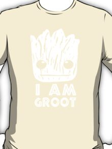 GUARDIANS OF THE GALAXY I AM GROOT FACE T-Shirt