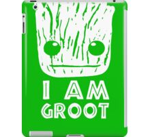 GUARDIANS OF THE GALAXY I AM GROOT FACE iPad Case/Skin