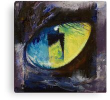 Blue Cat Eye Canvas Print