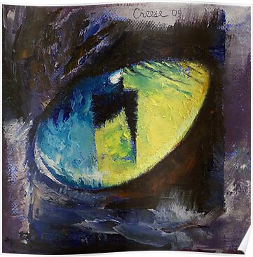 Blue Cat Eye by Michael Creese