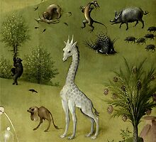 Hieronymus Bosch - Garden of Earthly Delights - Detail #2a by Chunga