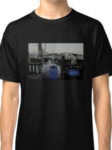 Blue Barrels at the Marina Classic T-Shirt