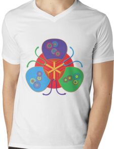 Fan from Asama Mens V-Neck T-Shirt