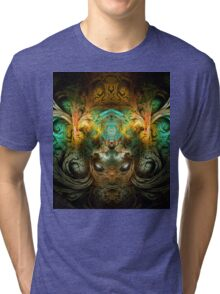 ©DA FS Face Off KukulKan V1FX. Tri-blend T-Shirt