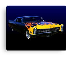 The Lone Wolf's Ride Canvas Print