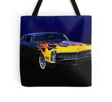 The Lone Wolf's Ride Tote Bag