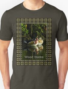 Wood Ducks at Homosassa Springs, Florida T-Shirt