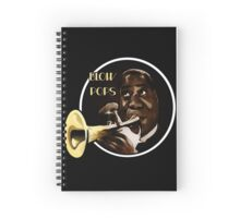 Louis Armstrong - Blow Pops Spiral Notebook