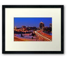 Plaza Lights Kansas City, Missouri Framed Print