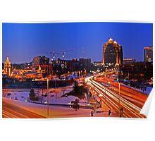 Plaza Lights Kansas City, Missouri Poster