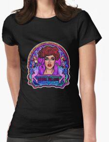 Adore Delano Art Nouveau Womens Fitted T-Shirt