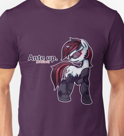 Ante Up - Augmented V2 Unisex T-Shirt