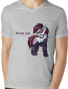 Ante Up - Augmented V2 Mens V-Neck T-Shirt