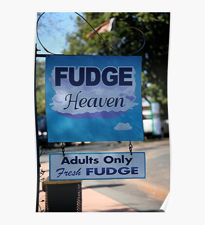 Adults Only Fudge Poster