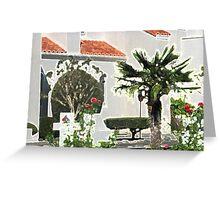 Church Yard in Livermore, California Greeting Card