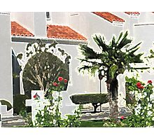 Church Yard in Livermore, California Photographic Print