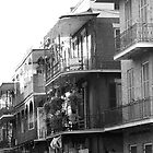 French Quarter Balconies by Darren Gantt