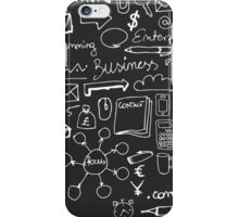 Business Doodles iPhone Case/Skin
