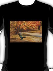 Autumn Benches T-Shirt
