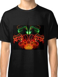 mirror image of Christmas lights  Classic T-Shirt