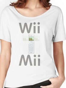Wii Mii Cellphone T-shirt Women's Relaxed Fit T-Shirt