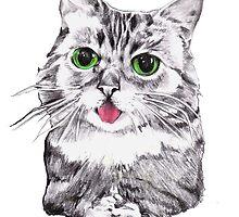 Lil' Bub Kitty - Meow! by ancapora