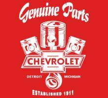 Classic Chevrolet Genuine Parts Baby Tee